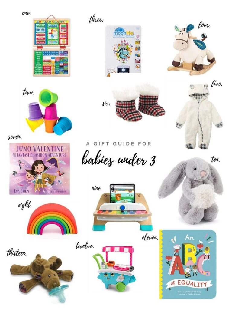 Gift Guide for babies under 3