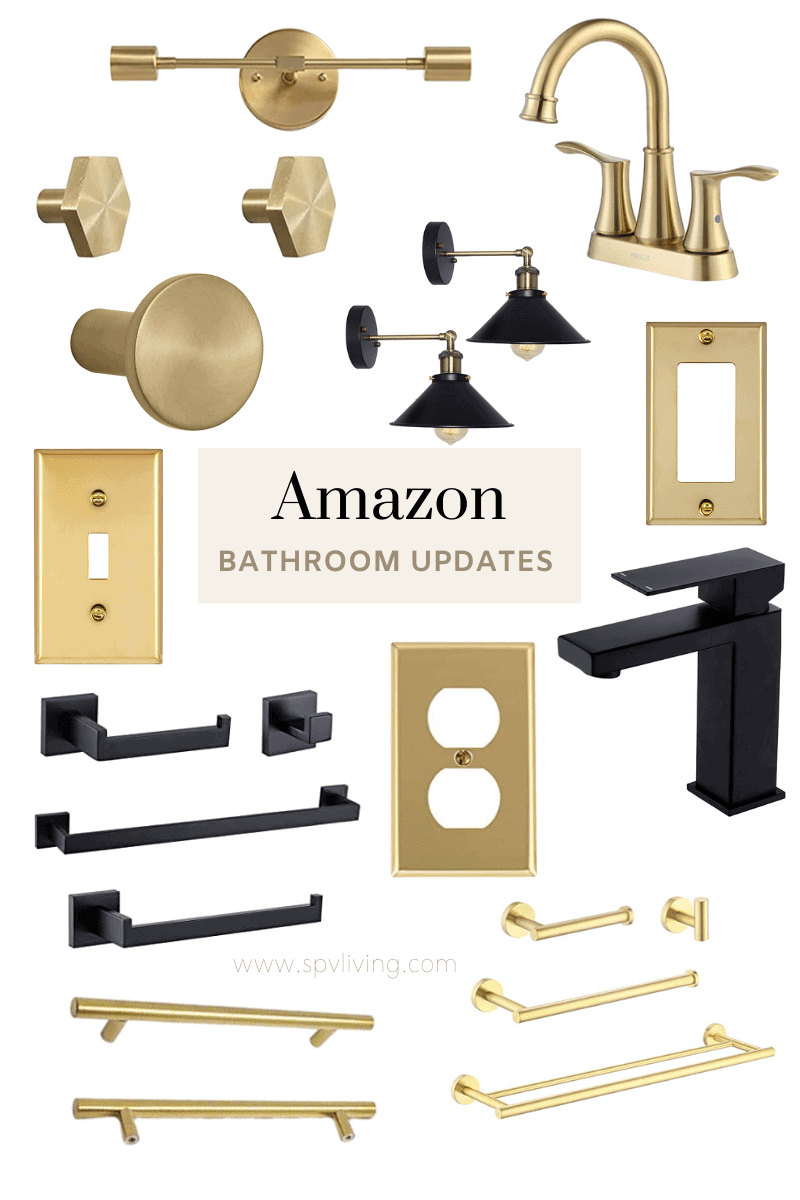11 Simple Bathroom Updates from Amazon