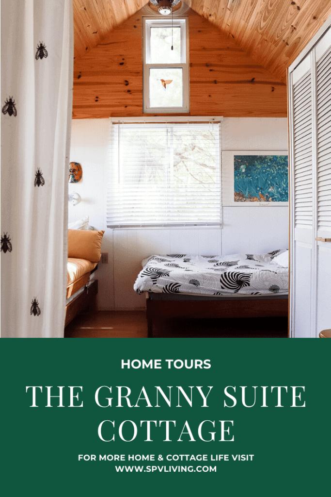 The Granny Suite Cottage Tour Pin