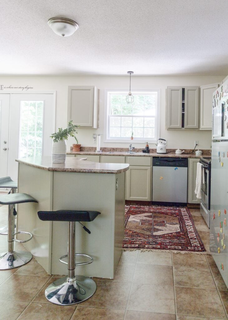 A Green Kitchen Update