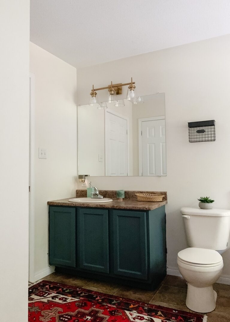 9 Easy Steps to Paint Bathroom Cabinets without Sanding them