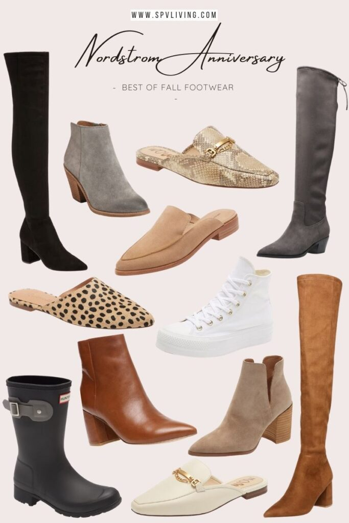 My favourite fall footwear from Nordstrom