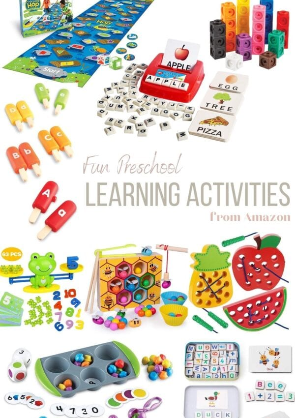 9 Preschool Resources from Amazon your Child will Love