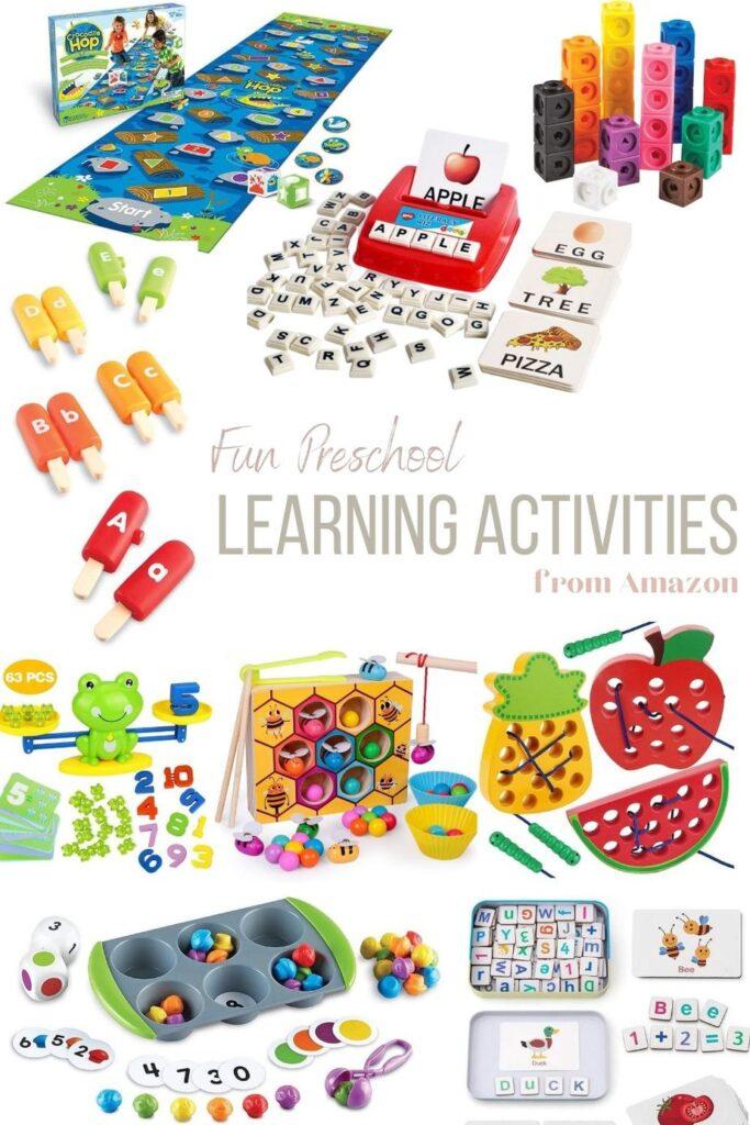 Preschool Resources from Amazon