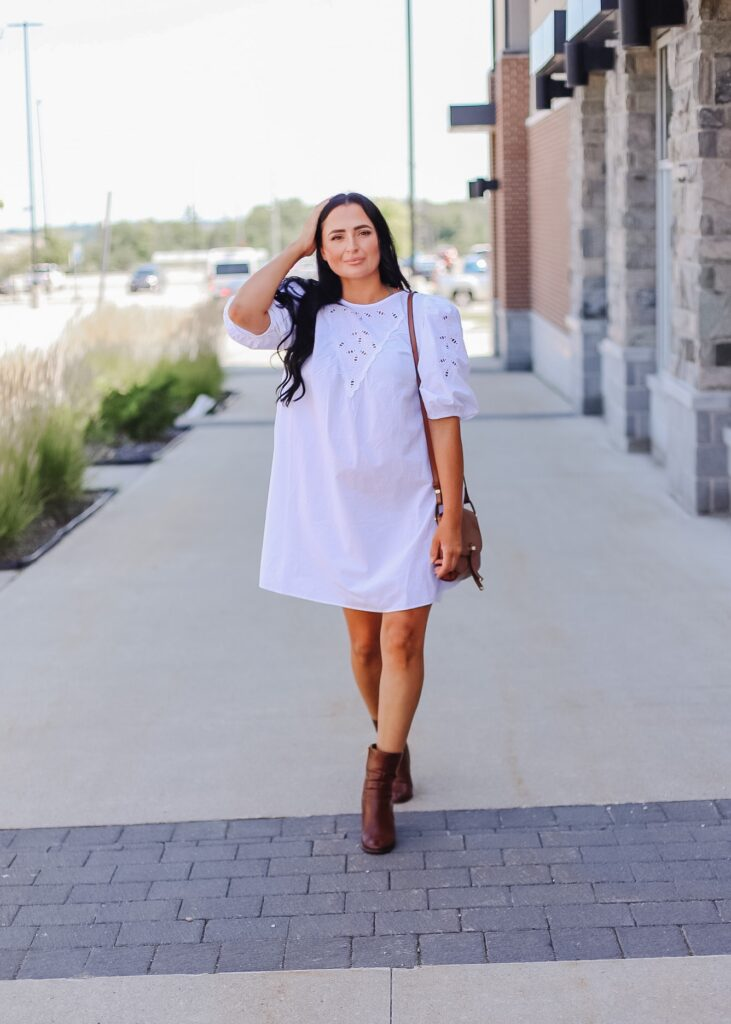 Ways to style a summer dress for fall