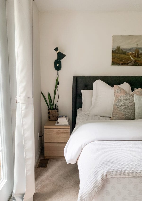 Rent or Own: Plug-in Wall Sconces for the Bedroom