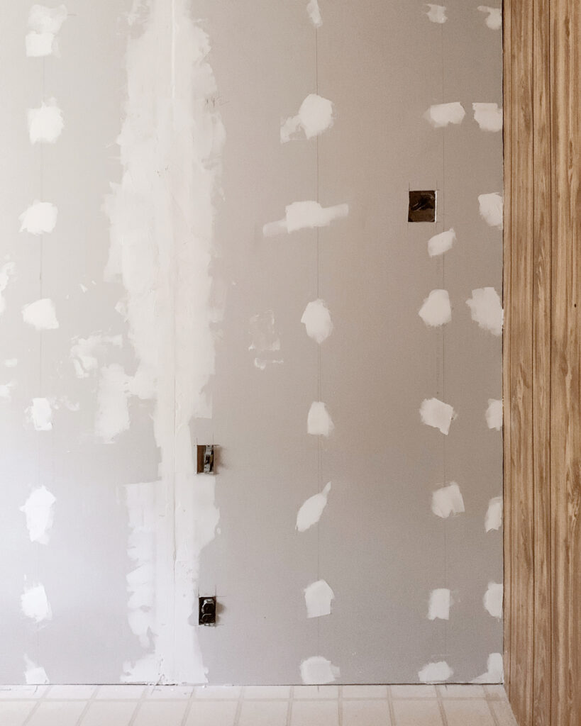how to replace paneling with drywall