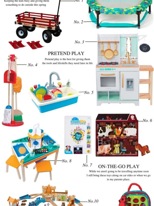 holiday gift guide for kids 2 and under