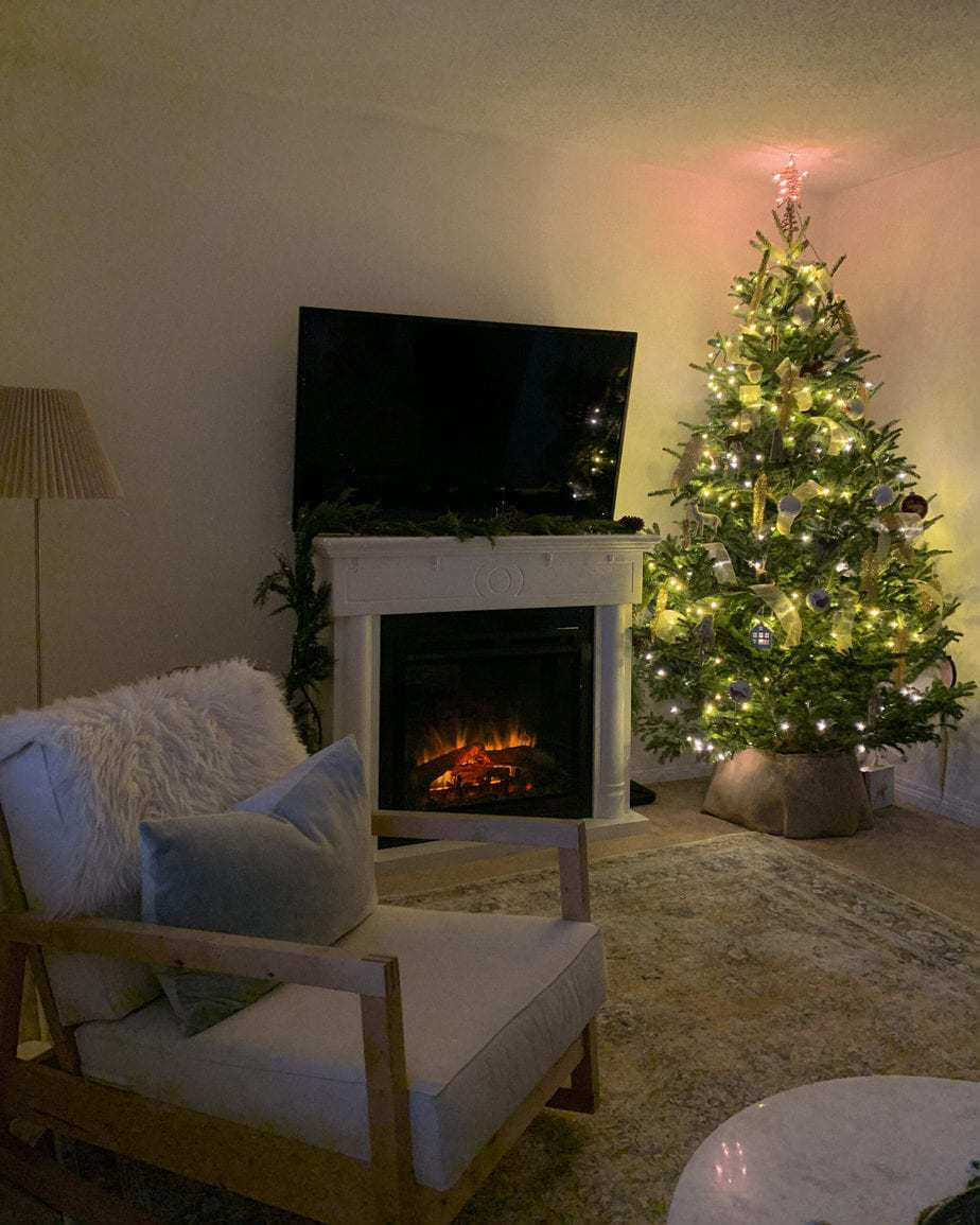 Our Woodland Themed Christmas Tree