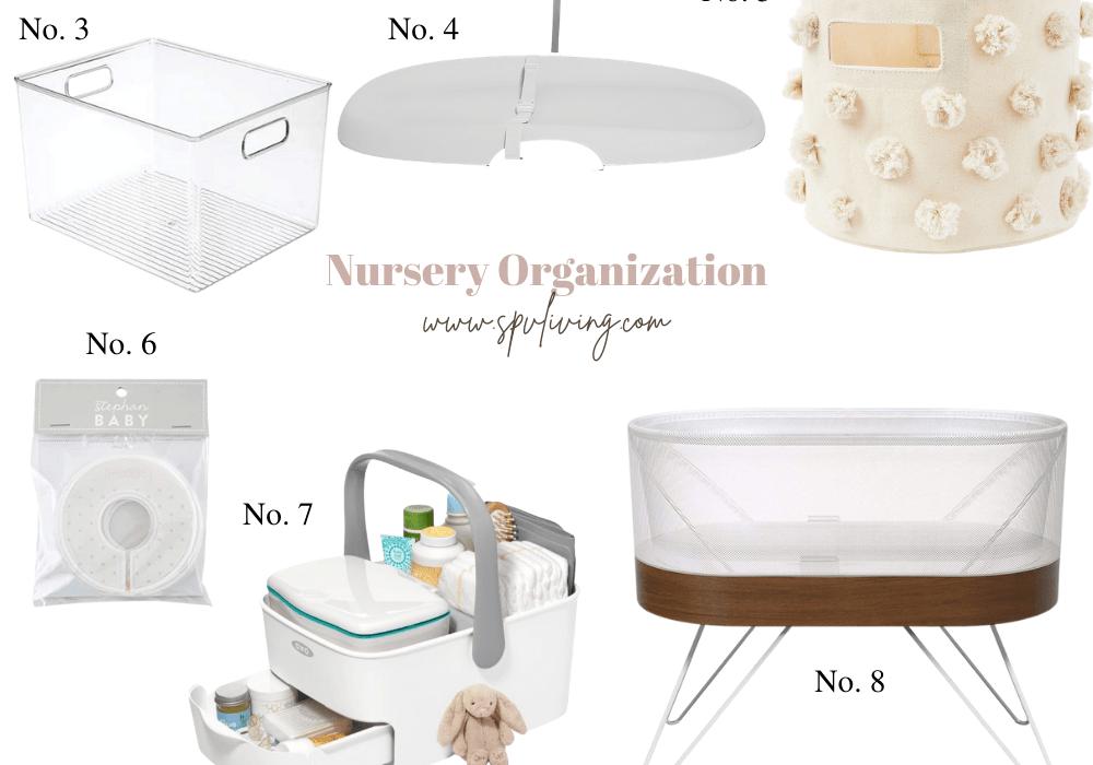 11 Nursery Organization Ideas Every Mama Need to Know about!