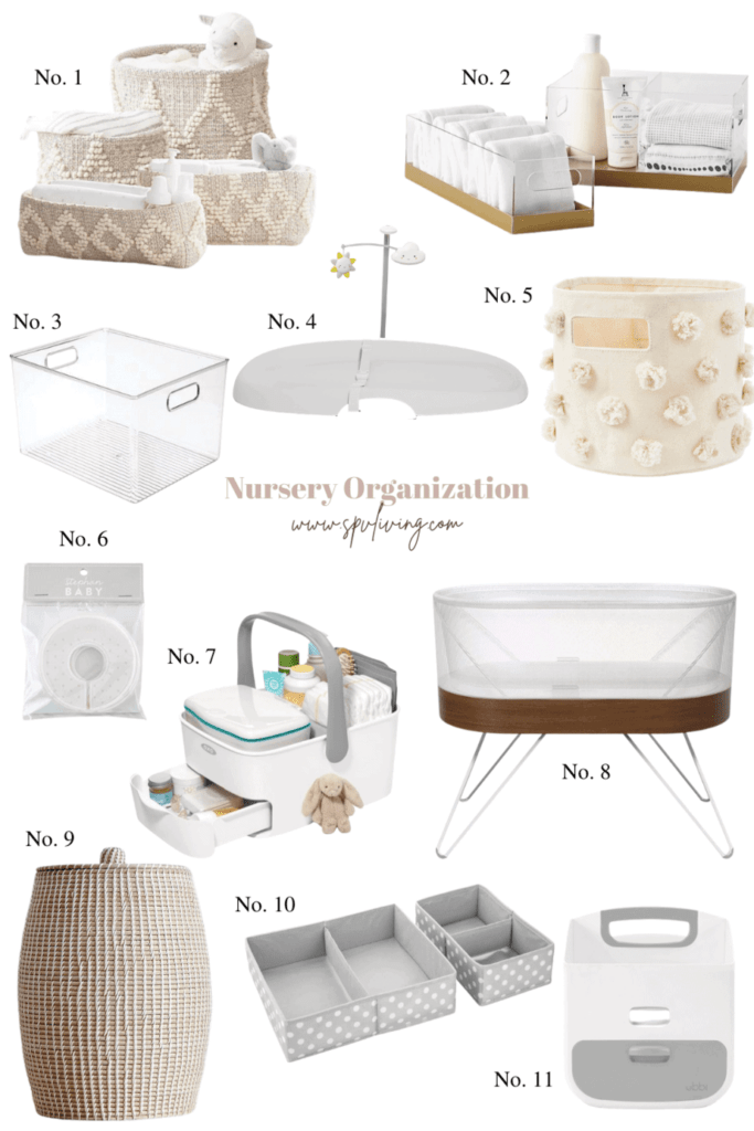 11 Nursery Organization Ideas
