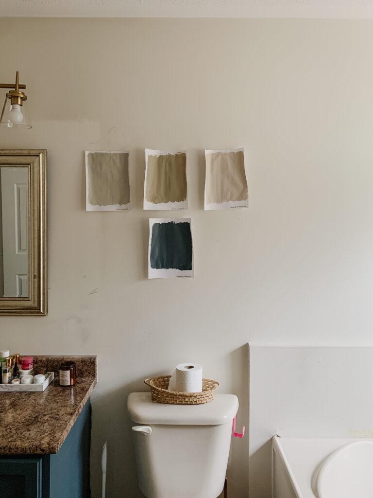 French Cottage bathroom design