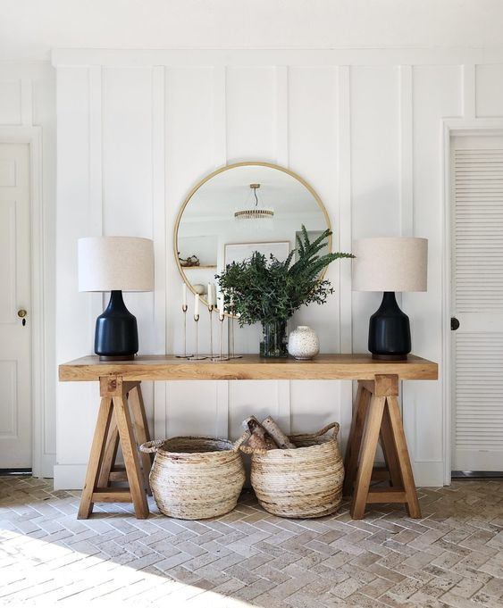 Design Dilemma: How to create an entryway when you don't have one?
