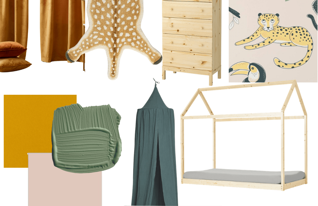 One Room Challenge: The Room, Mood Board, and Plan