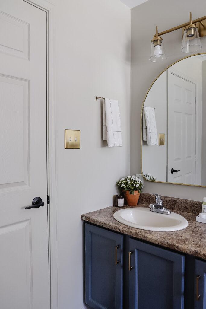 quick bathroom renovation