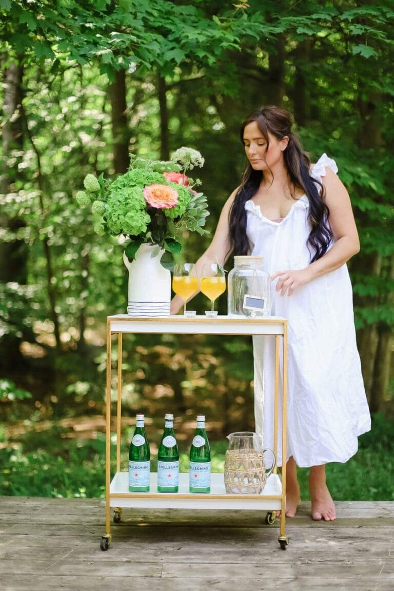 9 Outdoor Bar Cart Ideas to Re-create this Summer!