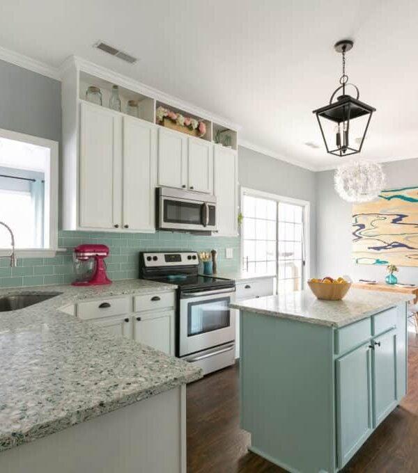 DIY Coastal Kitchen