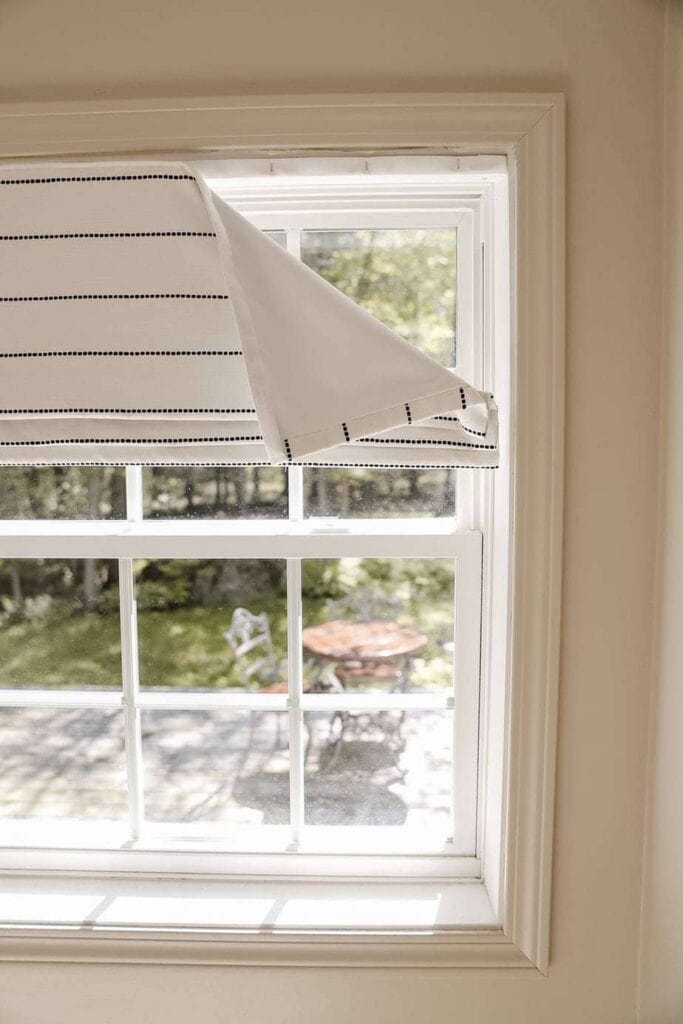 made-to-measure roman blinds