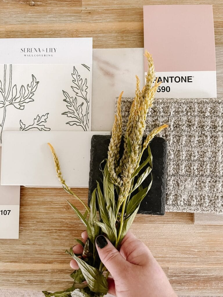 How to make a mood board with carpet one